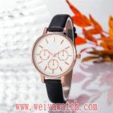 Wristwatch изготовления повелительниц кварца способа вскользь (Wy-17030B)