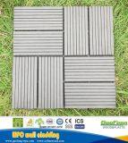 Easy-Clean e preço baixo WPC DIY Flooring/piscina azulejos em deck