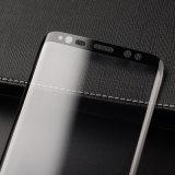 Samsung Note8のための4Dによって曲げられる透過緩和されたガラスの保護装置のフィルム