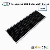 indicatore luminoso di via solare Integrated di 80W LED con il sensore di PIR