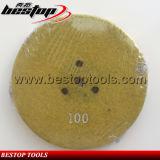 крюк скрепления средства песчинки 100# 5inch 125mm и диск диаманта затыловки петли конкретный меля