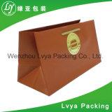 Um mais baixo preço recicl o saco de papel impresso costume do presente, saco de compra de papel