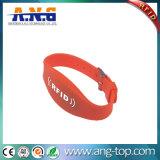 適性RFID NFCの輪ゴムのブレスレット