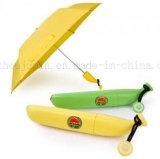Le logo OEM la publicité créative de promotion de la banane de pliage parapluie portable