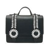 Sacchetto di Tote su ordinazione del sacchetto della signora spalla della borsa delle donne del sacchetto della cartella di modo dei fornitori della borsa di Yc-H001 Cina con la decorazione di cristallo lucida