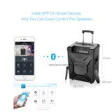 Tranvía T2 Portable DJ PA Sistema de altavoces inalámbricos Bluetooth Altavoz exterior
