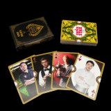 Cartões de jogo padrão por atacado da foto do OEM do tamanho do póquer com logotipo