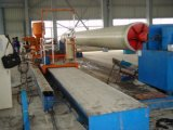 Máquina de enrollamiento de la fibra de vidrio de GRP FRP para el cilindro del tubo del tubo de FRP