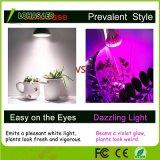 8W crecer en todo el espectro de luz LED PAR20 para las plantas de interior verduras y flores.