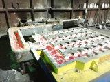 アルミニウム鋼片の鋳造機械