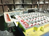 Machine de bâti en aluminium de billette
