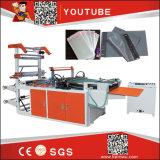 Machine de Sac-Fabrication de Double couche de gestion par ordinateur de marque de héros de roulement à grande vitesse de gilet (DZB500-800)