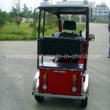 Un triciclo invalidado pasajero posterior para la gasolina
