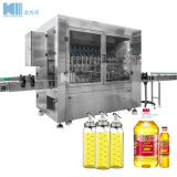 De Olijf van de Trommel van de fles/Eetbaar/Plantaardig/Smeermiddel/Motor/de Kokende Het Vullen van de Smeerolie Bottelende Verpakkende Machine van de Verpakking met van de ServoMotor van Ce ISO- Certificaat
