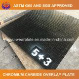 Placa del desgaste del carburo del cromo para la paleta de guía