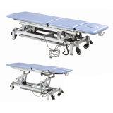 Equipo de rehabilitación camas de masaje eléctrico ajustable