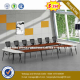 فولاذ معدن قاعدة [مفك] خشبيّة [كنفرنس تبل] /Conference مكتب ([نس-نو090])