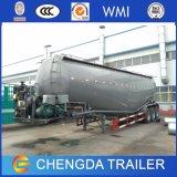 Qualidade elevada 42cbm petroleiro de cimento a granel semi reboque