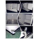 Embracoの圧縮機が付いている両開きドアの冷蔵庫のフリーザー