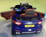 O melhor produto de venda caçoa o passeio elétrico no brinquedo do carro