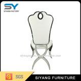 ステンレス鋼の家具の十字の背部レストランの椅子