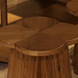 Último diseño Silla de madera maciza mobiliario para el Hotel CH-617