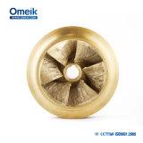 Impulsor de bronce de cobre para las bombas centrífugas