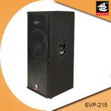 Ausgezeichneter vernehmbarer Leistungs-Lautsprecher-Audiosystem PA-Evp-215