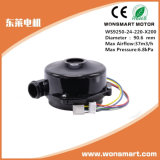 ventilateurs de ventilateurs de C.C de 24V 48V pour le climatiseur de véhicule