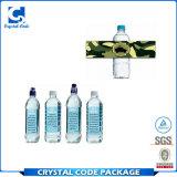 Подгонянный ярлык стикера бутылки воды пластичный
