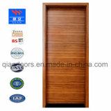 Le teck de placages de bois solide porte coupe-feu extérieur
