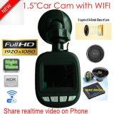 """Hete Verkoop 1.5 """" de Camera van de Zwarte doos van de Auto FHD1080p; G-sensor; WDR; De Camera van de Functie DVR van de Visie van de nacht"""