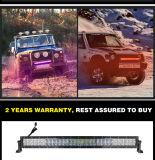 Barre d'éclairage LED du contrôle 5D DRL RVB 52inch de Bluetooth pour la jeep 4X4 tous terrains