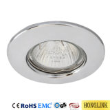 La iluminación interior de acero con casquillo GU10/MR16 accesorio Downlight LED Downlight