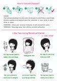 Ventilator-vorm het ultra Absorberende Beschikbare Maandverband van Vrouwen voor de Nachtelijke en Zware Tijd van de Stroom