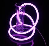 고품질 편평한 라운드 LED 가벼운 네온 코드