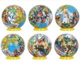 Mundo 3D Puzzle modelo didáctico para niños, Globe juegos de rompecabezas rompecabezas Toy