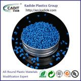 Materia plastica di Masterbatch di colore blu usata per i giocattoli