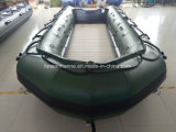 460cm barco patrulha militar verde para venda