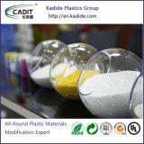Resina de plástico branco Masterbatch cores para frascos de embalagem