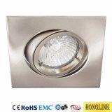 Torsione IP20 ed alluminio fuso sotto pressione ribaltabile LED Downlight della serratura