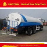2000L Sinotruk Golden Prince 6X4 VEÍCULO de sprinklers de água