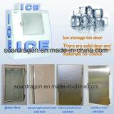 Fabricante do especialista das técnicas mercantís do gelo para o armazenamento de gelo ensacado