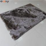 100% polyester en pure soie Hairy tapis tapis faits main à partir de Wuhu facile de la Chine