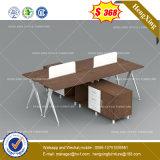 Mur de Partation de bureau de poste de travail de personnes des meubles de bureau de projet 4 (HX-8NE041)