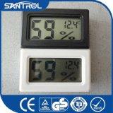 La pared del higrómetro de la humedad del sitio de la cocina de Digitaces LCD colgó el termómetro de la temperatura