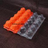 명확한 PVC 조가비 물집 12 계란 수송용 포장 상자 플라스틱 수송용 포장 상자