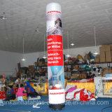 Colonne gonfiabili decorative della colonna chiara gonfiabile esterna dei tubi per la notte del partito
