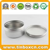 contenitore di alluminio di vaso crema cosmetico delle latte di alluminio 200ml con con tappo a vite