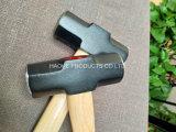 나무로 되는 손잡이 XL0121를 가진 손 공구 망치 망치 또는 클럽 망치